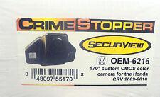 NEW Crimestopper OEM-6216 Honda CRV (2009-2010) High Sensitivity CMOS Camera