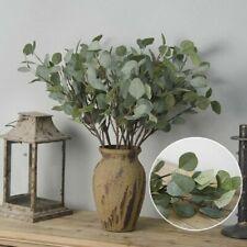 37cm Artificial Fake Leaf Eucalyptus Green Plant Silk Flowers Nordic Decor