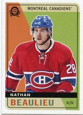 17/18 O-PEE-CHEE OPC RETRO #306 NATHAN BEAULIEU CANADIENS *40185