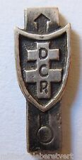 Insigne miniature boutonnière du TRAIN DCR 2° DB WWII ORIGINAL sans attache