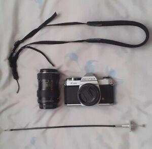 Pentax K1000 Kamera Set Mit 2 Objektiven – Top Zustand