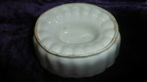 Vintage Stoneware ceramic Mould for jelly or bird/ game pate Gin Comfit pint