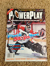 1996 PowerPlay magazine Hextall Fedorov Brodeur Niedermayer - 3 hockey cards