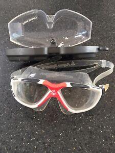 Ladies Aqua Sphere Vista  Goggles With Box