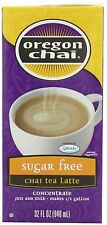 Oregon Chai Sugar Free Chai Tea Latte Concentrate, 32-Ounce Boxes (Pack of 6) ,