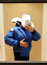 NEW SPECIAL EDITION POLAR BEAR CANADA GOOSE BLUE LABEL PBI CHILLIWACK SM PARKA