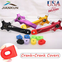 7/8/9/10/11/12s Single/Double/Triple 104bcd MTB Bike Crankset BB Crank set Cover