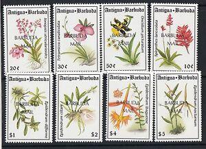 BARBUDA:1993 Flowers set  SG1458-65 unmounted mint