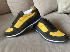 PRADA SHOES BNIB 4E2721 Yellow / Grey US 10 / UK 9