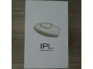 IPL Intense Pulsed Light Hair Removal System Painless Rose Gold & White Open Box