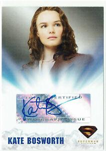 Superman Returns Topps Authentic Autograph Card Kate Bosworth as Lois Lane