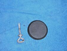 porsche 944 924 Fuel tank Inspection Cap Bezel 94450420700 & spare wheel bolt