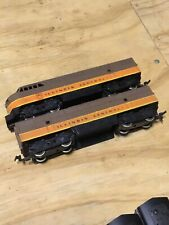 5701 Vintage Rivarossi HO Scale Diesel Locomotive Illinois Central W Dummy Rare