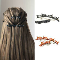 Layer Hair Clips Twist Barrettes Double Bangs Hairstyle Hairpin Styling Clip