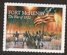 US 4921 War 1812 Fort McHenry forever single (1 stamp) MNH 2014