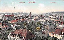 Germany postcard Bielefeld panorama view ca 1912