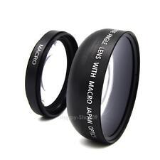 49mm 0.45X Wide Angle Lens Macro Lens for Sony A NEX3 NEX5 NEX NEX-C3 Camera
