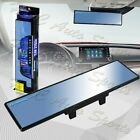 Broadway 270mm Wide Flat Interior Clip On Rear View Blue Tint Mirror Universal 4