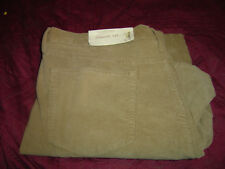 Sonoma Straight Fit Cordoroy Pant Light Brown Color 36/30 #609-2