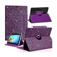 Housse Etui Diamant Universel S couleur Violet pour Tablette Polaroid Rainbow+ 7