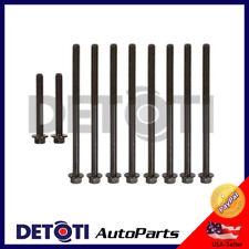Cylinder Head Bolts For 96-02 Chevrolet Pontiac Oldsmobile Buick 2.4L I4 Malibu