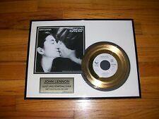 Beatles - John Lennon - 24Kt Gold 45 Display - (Just Like) Starting Over - Rare