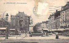 B4452 Belgique Bruxelles Place Anneessens   front/back scan