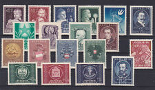 Österreich Jahrgang  1949 postfrisch**19 Werte