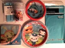 Octonauts - Birthday Party Supply Kit for 8 w/ Tableware