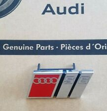 original Audi S6 Logo Clip A6 C4 Schriftzug Emblem Plakette Grill Kühlergrill