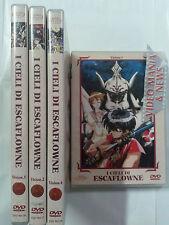 I cieli di Escaflowne  DVD Vision 1 2 3 4 5 completa