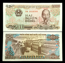 Vietnam 2000 Dong Banknote World Paper Money UNC Currency Bill Note