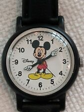 Vintage Disney Mickey Mouse Quartz Analog Watch RRS59AX 1990's