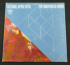 The Unspoken Word - Tuesday, April 19th LP  Ascot AS 16028 - Original Press NM