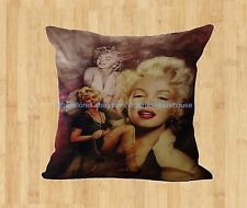 US Seller-Marilyn Monroe cushion cover home decoration throw pillow cover