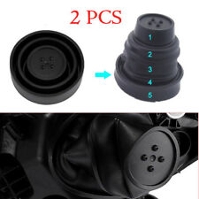 2Pcs Car Headlamp Dust Cover 5 Sizes Dustproof Cap For LED Headlight HID Lamp