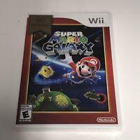 Super Mario Galaxy - Nintendo Selects (Nintendo Wii, 2011) BRAND NEW SEALED