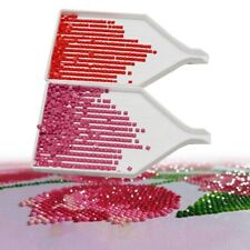 10Pcs Diamond Painting Drill Plate Tray Tool Rhinestone Storage Container Box HM