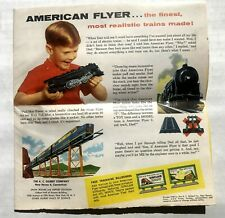 1958-59 Gilbert American Flyer Model Train Brochure  Catalog -- Great Price!