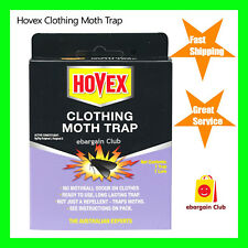 Hovex Clothing Moth Trap Non-Toxic Alternative to Pesticides Wardrobe eBC