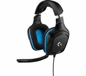 Logitech G432 Wired Gaming Headset, 7.1 Surround Sound, DTS