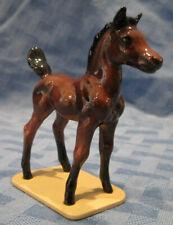 Hagen Renaker Specialty Horse, Arabian Colt, Bay, on Base, Retired, #3348