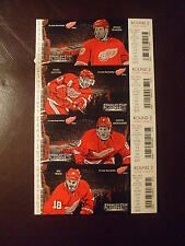 2013  DETROIT RED WINGS PLAYOFF TICKETS ROUND 2 (4) PAVEL DATSYUK EXC L@@K!