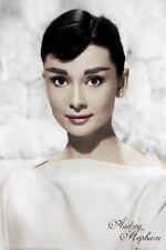 POSTER Audrey Hepburn White