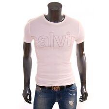 T-shirt manches courtes Calvin Klein Cmp84t Homme Noir M