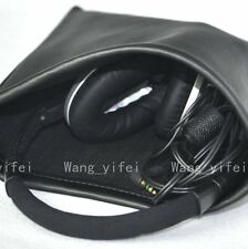 Soft Black Bag Pouch PCase for Bose Around Ear AE TP-1 Headphones Headset