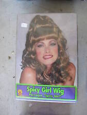 Dirty Blonde Woman's Spicy Girl Wig New LOOK