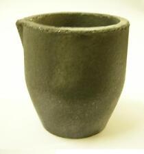 2X creuset en graphite pour la fonte de l'or resiste à+de 1500 °C haut 5 ø 5 cm