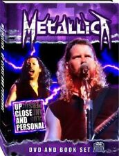 Metallica .. Up Close And Personal .. DVD + Book .. OVP