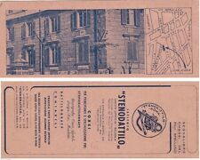 # ROMA: VIALE MANZONI- SEGNALIBRO PUBBLICITARIO